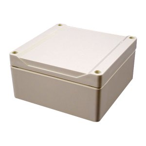 Hammond 1555N2GY Watertight PC Enclosure Styled Lid 120 x 120 x 60...