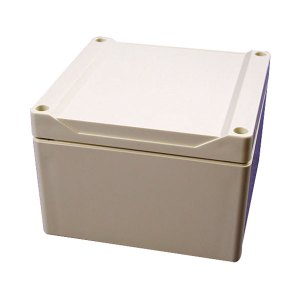 Hammond 1555P2GY Watertight PC Enclosure Styled Lid 120 x 120 x 80...