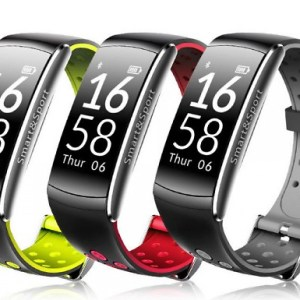 Q8 Waterproof Smart Watch with Fitness Tracker - 3 Colours