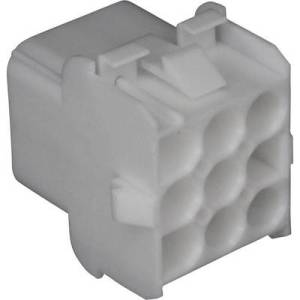 TE Connectivity Socket enclosure - cable Universal-MATE-N-LOK Total number of pins 12 Contact spacing: 6.35 mm 926681-3 1 pc(s)