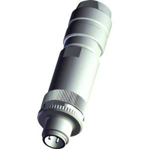 TE Connectivity T4011008031-000 Sensor/actuator connector M8 Plug, straight No. of pins (RJ): 3 1 pc(s)