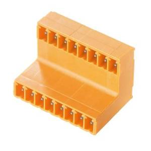 Weidmueller Pin enclosure - PCB BL/SL Total number of pins 8 Contact spacing: 3.81 mm 1032120000 50 pc(s)