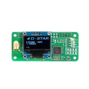 Mini MMDVM Hotspot Expansion Board Spot Radio Station Wifi Digital Voice Modem with Case for P25 DMR YSF Raspberry Pi