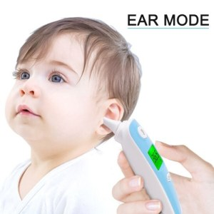 Ear Thermometer /Forehead Thermometer Digital Infrared Medical LCD Display Thermometer