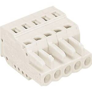 WAGO Socket enclosure - cable 721 Total number of pins 2 Contact spacing: 5 mm 721-102/026-000 1 pc(s)