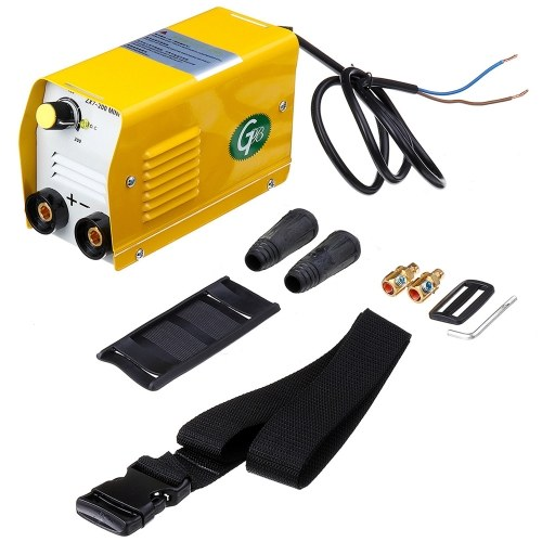 Portable Household Mini Electric Welding Machine IGBT DC Inverter ARC MMA Stick Welder ZX7-200 220V