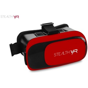 Stealth VR50 Virtual Reality Headset Red (iOS & Android)