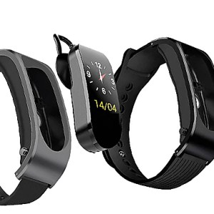 3-In-1 Smart Watch With Earphones & Heart Rate Monitor - 2 Colours