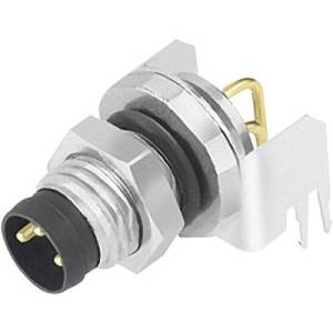 Binder 09 3419 82 03 Sensor/actuator built-in connector M8 Plug, right angle No. of pins (RJ): 3 1 pc(s)