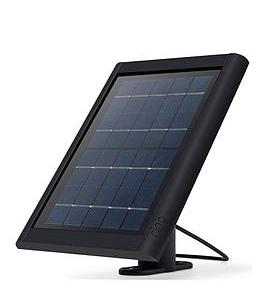 Ring Solar Panel For Spotlight Cam Battery Black