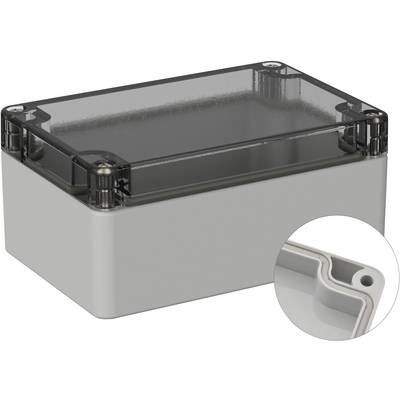 TRU COMPONENTS Universal enclosure 120 x 80 x 55 PC Grey-white (RAL 7035) 1 pc(s)