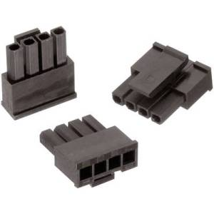 Wuerth Elektronik Socket enclosure - cable WR-MPC3 Total number of pins 4 Contact spacing: 3 mm 662004013322 1 pc(s)