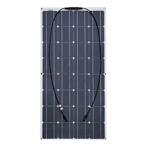 100W Ultra-thin Semi-flexible Bendable Solar Panel
