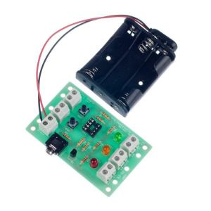 8 Pin Pic Development Board | 2 In, 3 Out
