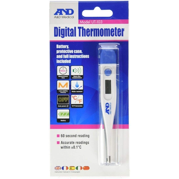 A&D Medical UT103 Digital Thermometer