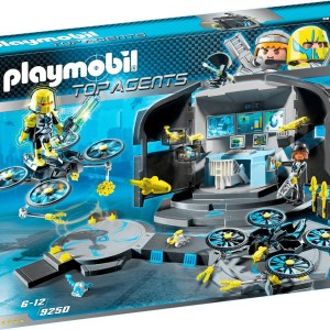 Playmobil Top Agents - Dr. Drone's Command Center (9250)