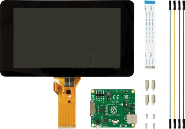 Raspberry Pi 7'' LCD-Touch-Display