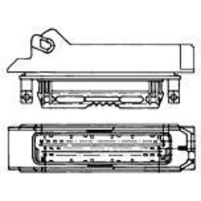 TE Connectivity Pin enclosure - cable J-P-T Total number of pins 4 Contact spacing: 5 mm 1-963207-1 1 pc(s)
