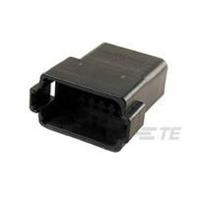 TE Connectivity Pin enclosure - cable DT Total number of pins 12 DT04-12PB-C015 1 pc(s)