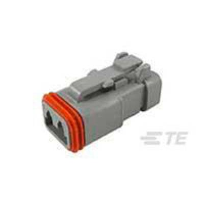 TE Connectivity Socket enclosure - cable DT Total number of pins 2 DT06-2S-EP04 1 pc(s)