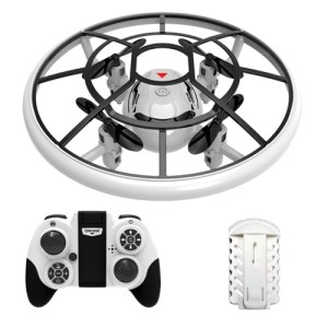 S122 Mini Drones Round Drone Helicopter Altitude Hold Headless Mode 3D Flip LED Lights RC Quadcopter for Training