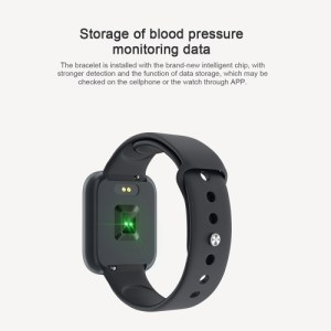 T80S Intelligent Watch Men and Women Body Temperature Heart Rate Monitor Fitness Wristband Sport Smart watch