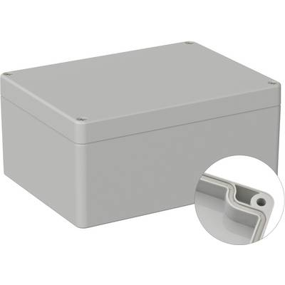 TRU COMPONENTS TC-9065680 Universal enclosure 160 x 120 x 75 Acrylonitrile butadiene styrene Grey-white (RAL 7035) 1 pc(s)