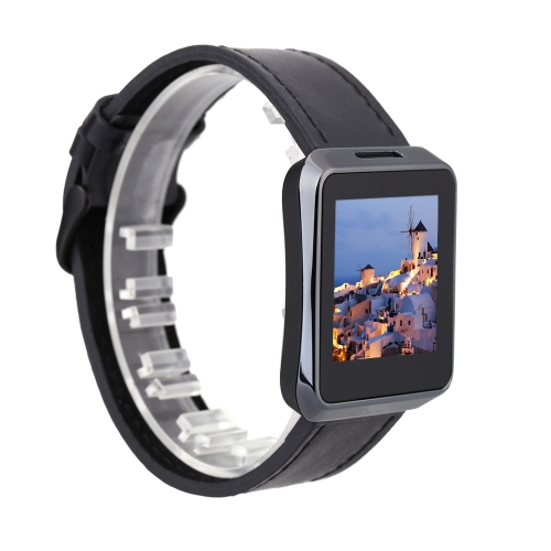 """Z023 BT BT4.0 Smart Watch 1.54"""" TFT Display Screen Genuine Leather Luxury Strap MTK2502-ARM7 OTA for Android iOS Smartphone Sleep Monitor Reminder Pedometer Remote Shooting Heart Rate"""