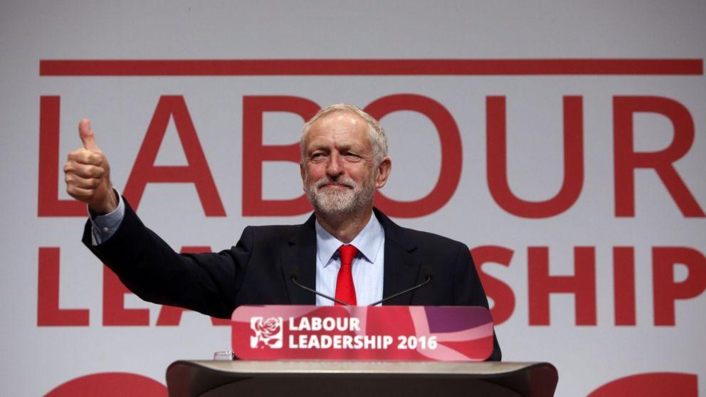 Jeremy Corbyn makes history
