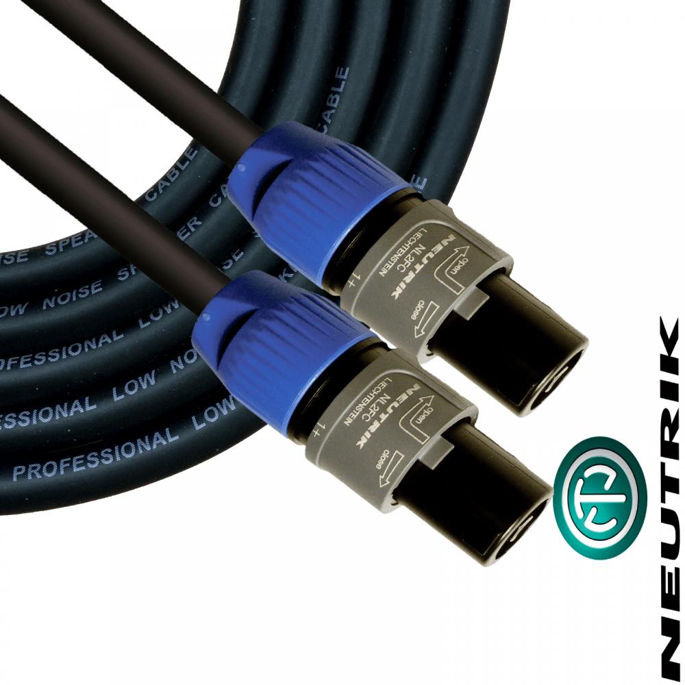 medium resolution of neutrik 4 pole speakon nl4fx passive speaker cable pa 10m lead neutrik speakon cable wiring