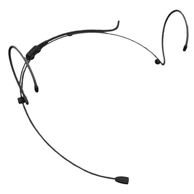 Stagecore SHM50SE BLK Headset with 4 Pin Mini XLR Connector