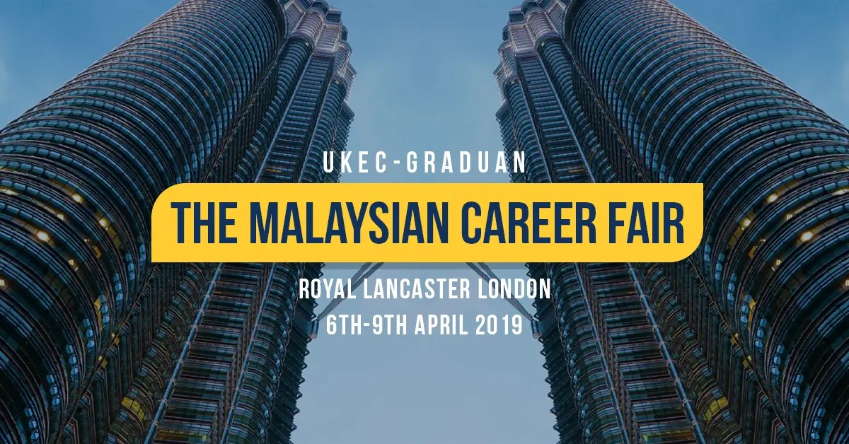 UKEC-GRADUAN The Malaysian Career Fair 2019 – UKEC