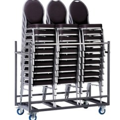 Banquet Chair Trolley Walmart Kitchen Cushions Fire Retardant Stacking Rouge Gold Arms No Holds Up To 30 Chairs Thumbnail