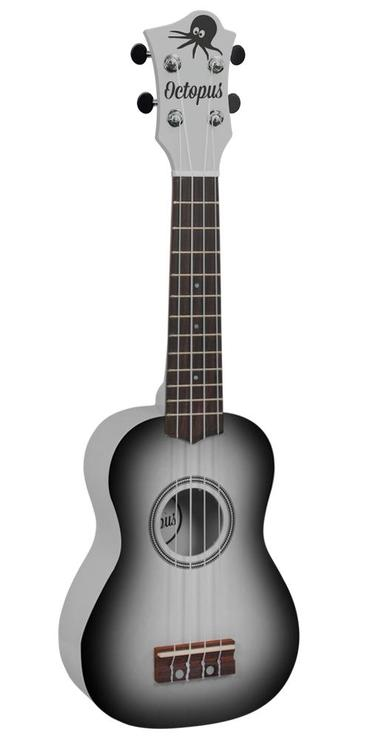 Octopus metallic burst series soprano ukulele