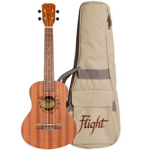 Flight NUT310 Sapele Tenor Ukulele With Bag