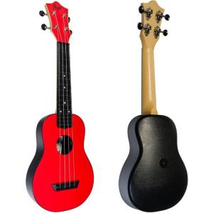 Flight TUS35 ABS Travel Ukulele Red