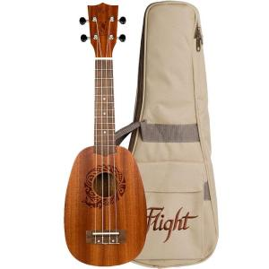 Flight NUP310 Pineapple Ukulele Sapele