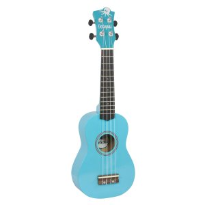 Octopus metallic series soprano ukulele Sky blue