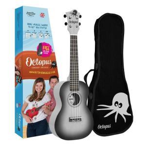 Octopus concert ukulele Black burst