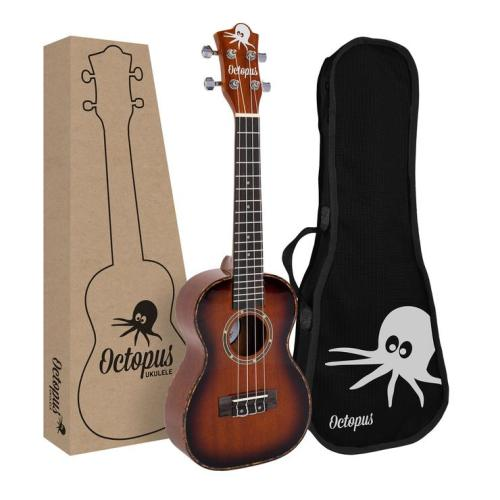 Octopus Mahogany concert ukulele in gloss finish