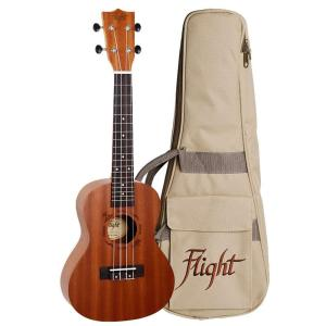 Flight NUC310 Concert Ukulele Sapele with Bag
