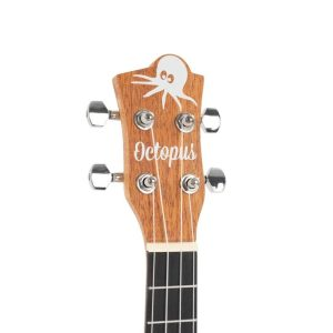 Octopus Mahogany series tenor ukulele with front image