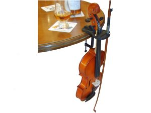 Pub Table with Violin propped
