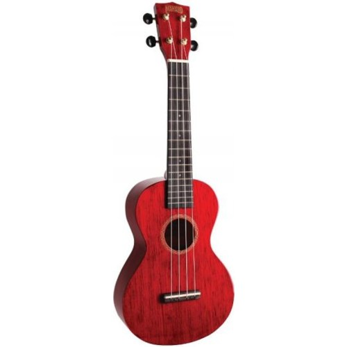 Mahalo Hano concert ukulele Red