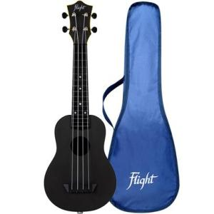 Flight TUS35E Travel Electro Ukulele Black