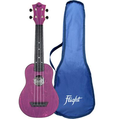 Flight TUS35 ABS Travel Ukulele Purple