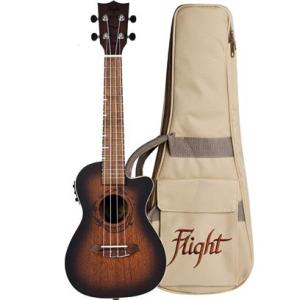 Flight Gemstone DUC380 Elec Con Ukulele