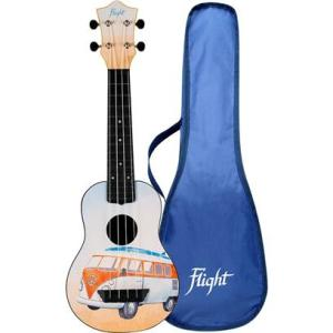 Flight TUS25 ABS Travel Ukulele Bus/Campervan