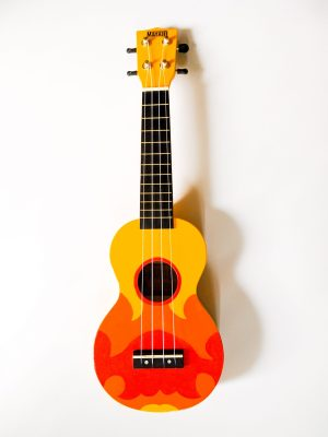 Art By Laura Joanne's Steven Universe and the Crystal Gems Hand Painted Soprano Ukulele