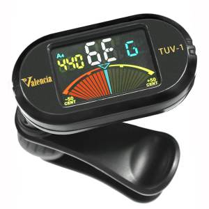 Valencia Chromatic Clip On Tuner